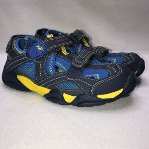 Stride Rite M2P Soni Blue Sandals Boy's 13.5M